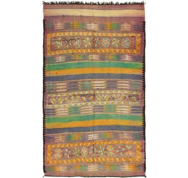 Image of 5' 8 x 10' 3 Moroccan Runner Rug