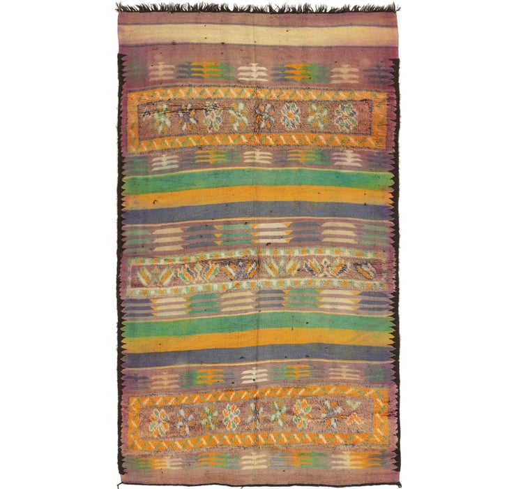 Image of 173cm x 312cm Moroccan Runner Rug