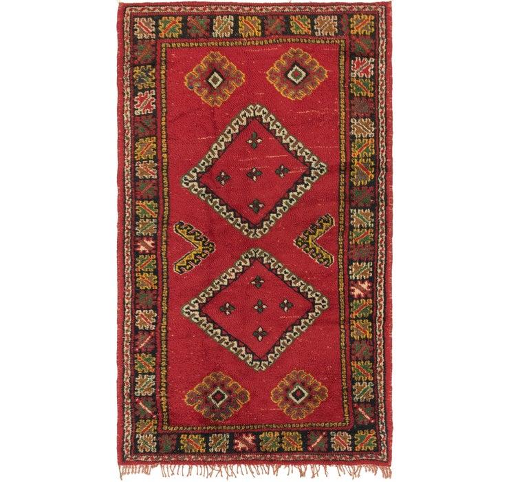 3' 9 x 6' 4 Moroccan Rug