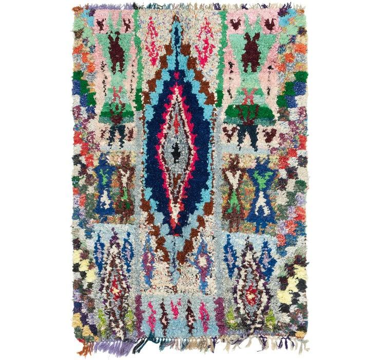 5' 4 x 8' Moroccan Rug