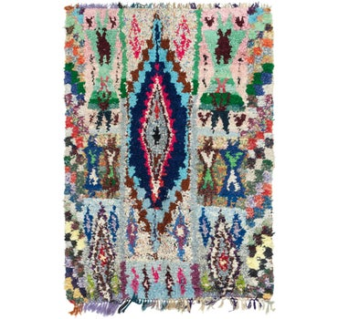 5' 4 x 8' Moroccan Rug main image
