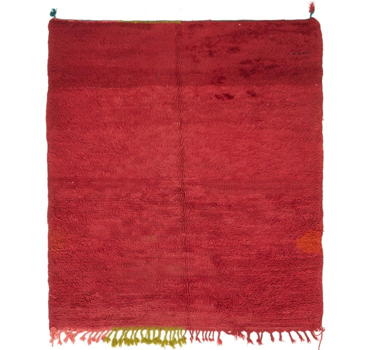 145cm x 168cm Moroccan Rug