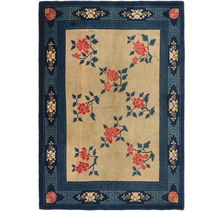 5' 5 x 8' Antique Finish Rug