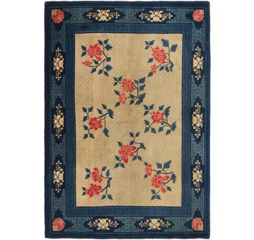 5' 5 x 8' Antique Finish Rug main image