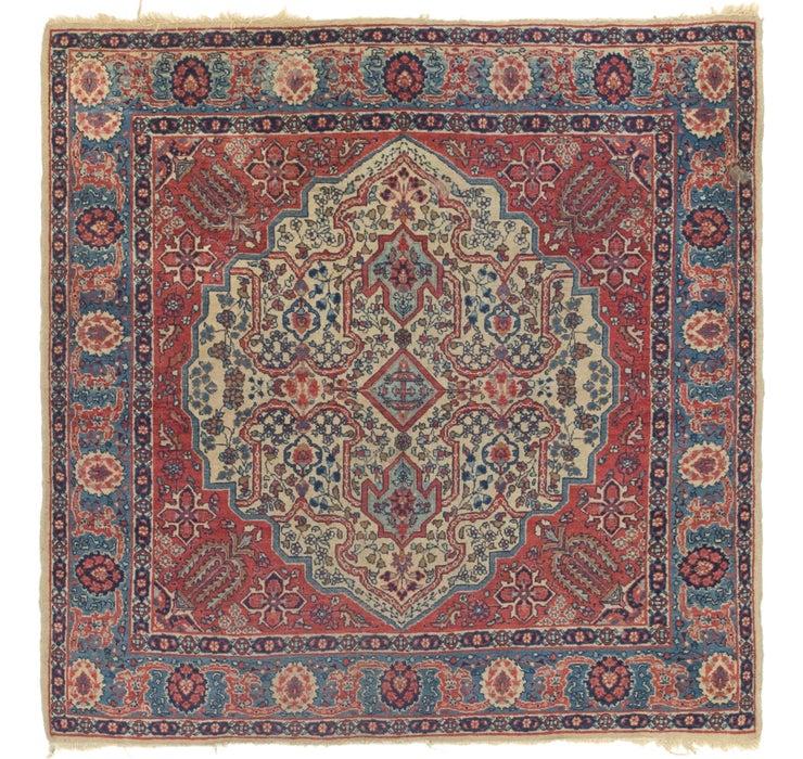 142cm x 142cm Isfahan Persian Square ...
