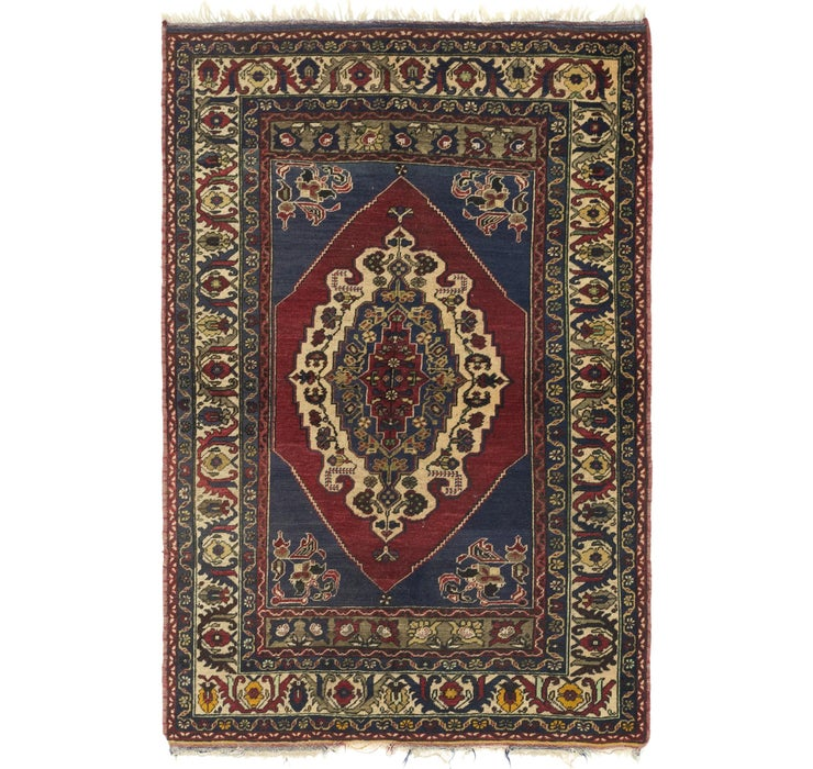 4' 7 x 7' Anatolian Rug