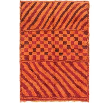 Image of 5' 2 x 7' 5 Moroccan Rug