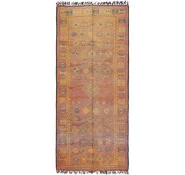 Image of 5' 10 x 13' 5 Moroccan Runner Rug