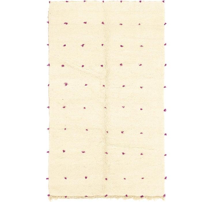 5' x 8' 6 Moroccan Rug