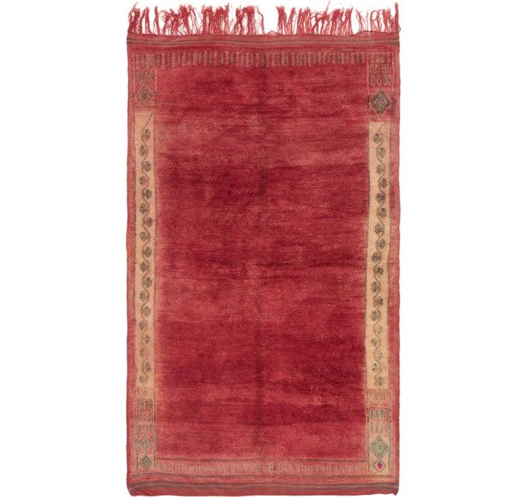 6' x 10' 3 Moroccan Rug