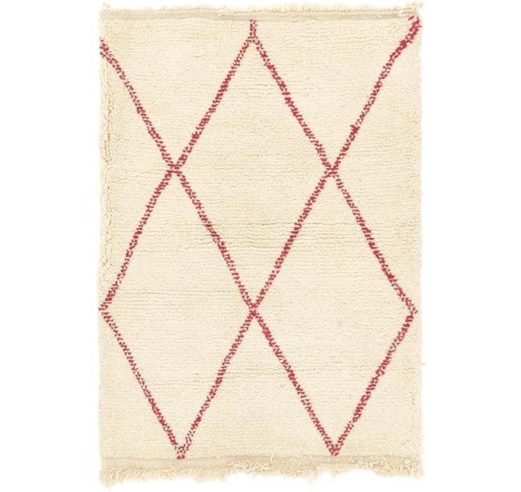 3' 5 x 4' 8 Moroccan Rug