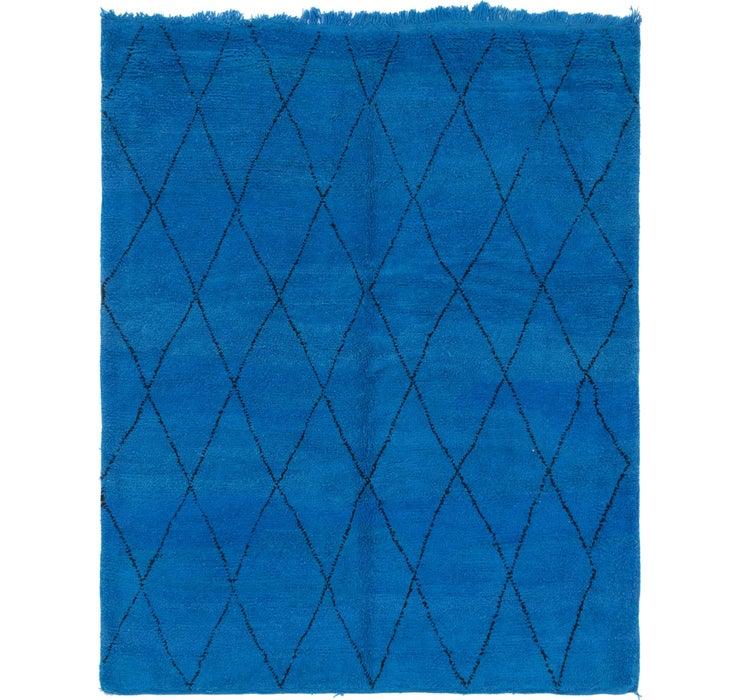 7' x 8' 9 Moroccan Rug