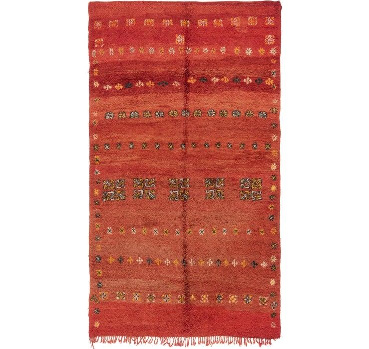 5' 6 x 9' 6 Moroccan Rug