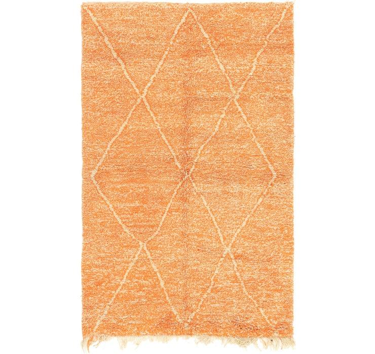 4' 10 x 7' 7 Moroccan Rug