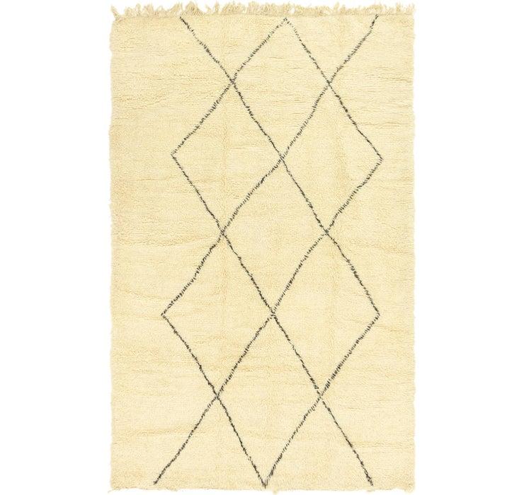 6' 6 x 9' 7 Moroccan Rug