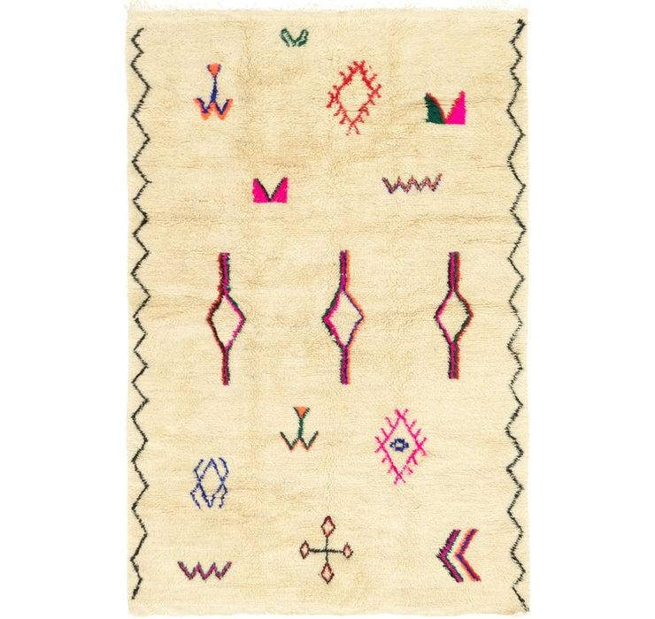 6' 4 x 9' 6 Moroccan Rug