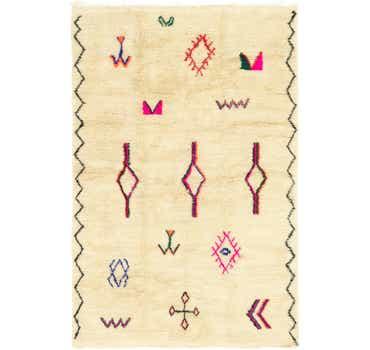 Image of 6' 4 x 9' 6 Moroccan Rug