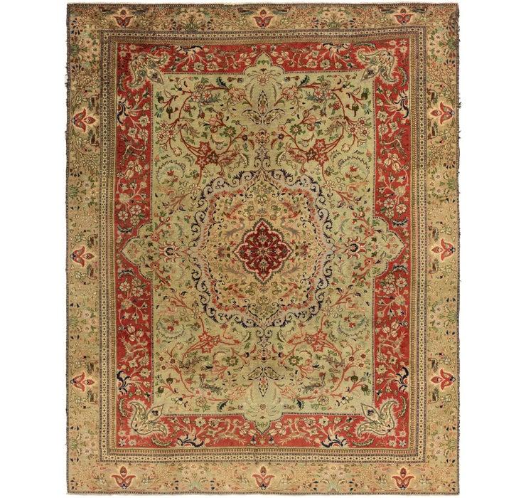 9' 2 x 11' 9 Tabatabaei Persian Rug