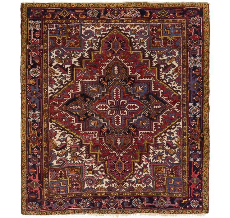245cm x 280cm Heriz Persian Rug