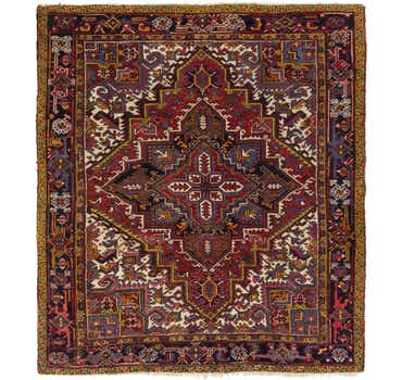 Image of 8' x 9' 2 Heriz Persian Rug
