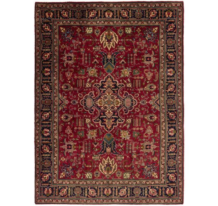 255cm x 345cm Tabriz Persian Rug
