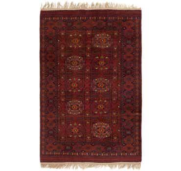 6' 5 x 9' 10 Torkaman Oriental Rug