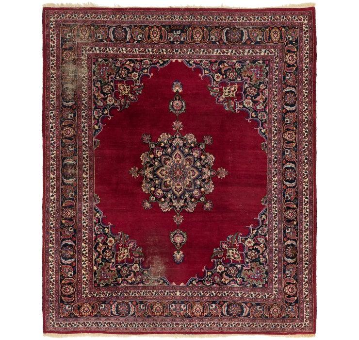 260cm x 312cm Mashad Persian Rug