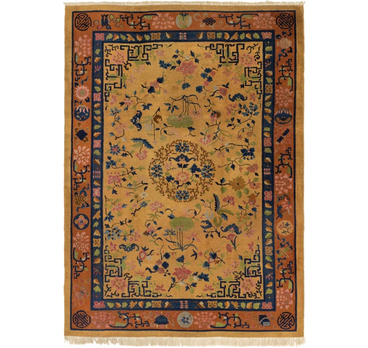 7' x 9' 9 Antique Finish Rug