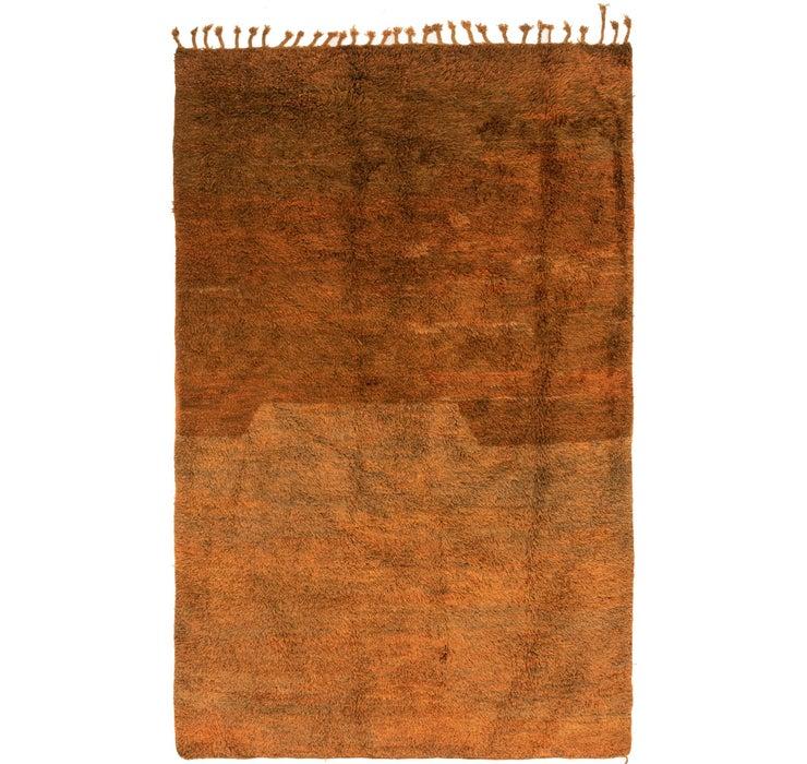 6' 6 x 10' 8 Moroccan Rug