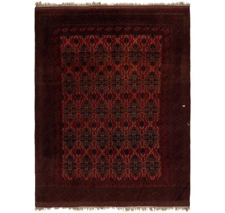 328cm x 427cm Afghan Mouri Oriental Rug