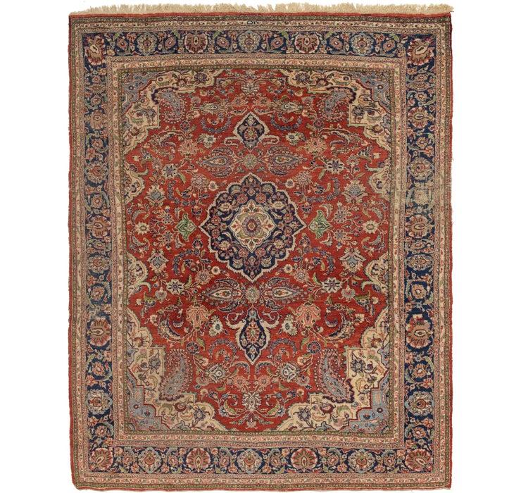 8' 3 x 10' 7 Heriz Persian Rug