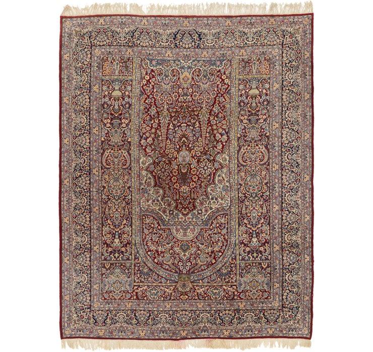 282cm x 365cm Kerman Persian Rug
