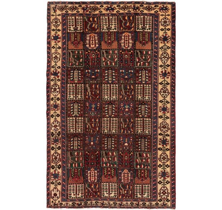 188cm x 318cm Bakhtiar Persian Rug