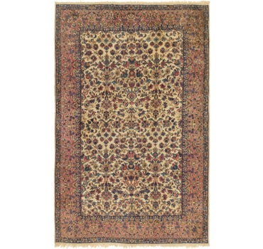 6' 8 x 10' 3 Kerman Persian Rug main image