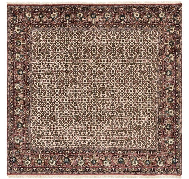 Image of 198cm x 200cm Bidjar Persian Square Rug