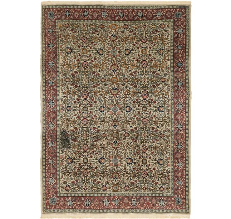 205cm x 287cm Hereke Oriental Rug