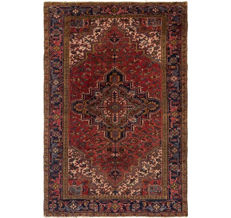 230cm x 343cm Heriz Persian Rug