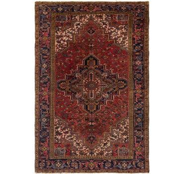 7' 6 x 11' 3 Heriz Persian Rug main image