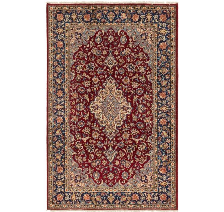 7' 2 x 11' 2 Isfahan Persian Rug