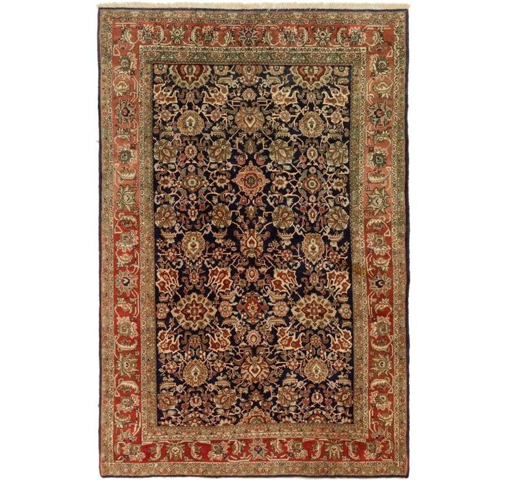 6' 8 x 9' 10 Tabriz Oriental Rug
