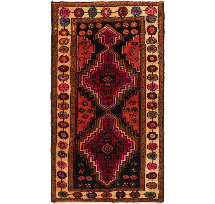 112cm x 200cm Shiraz-Lori Persian Rug