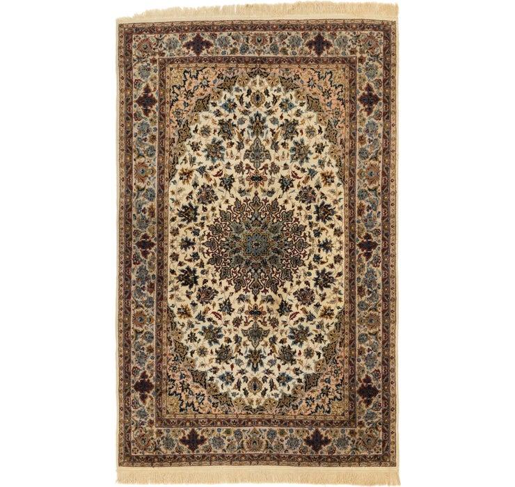 5' x 8' Isfahan Oriental Rug