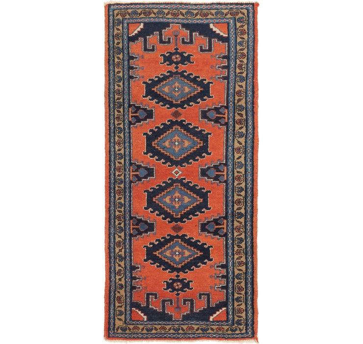107cm x 240cm Viss Persian Runner Rug