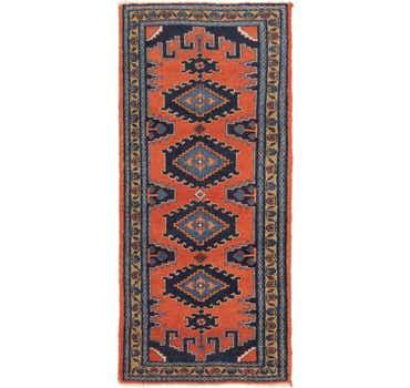 Image of 3' 6 x 7' 10 Viss Persian Runner Rug