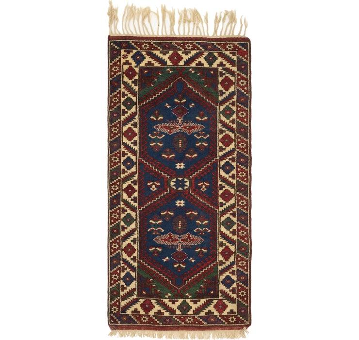 3' x 6' Anatolian Runner Rug