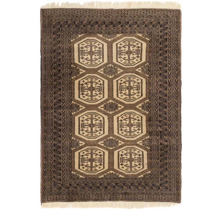 Image of  4' 4 x 6' 2 Bukhara Oriental Rug