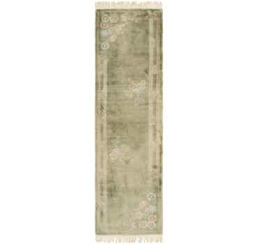 Image of 2' 4 x 8' 10 Antique Finish Runner Rug