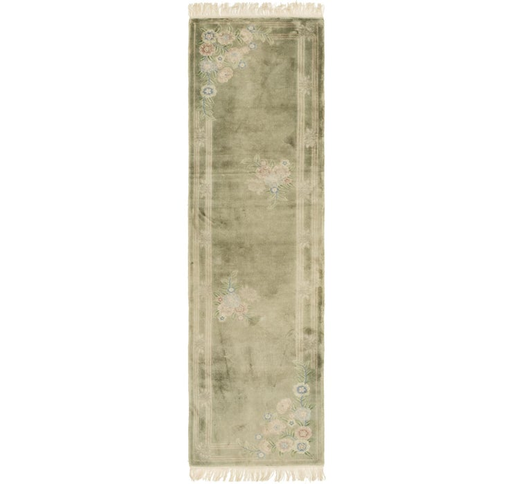 Image of 70cm x 270cm Antique Finish Runner Rug