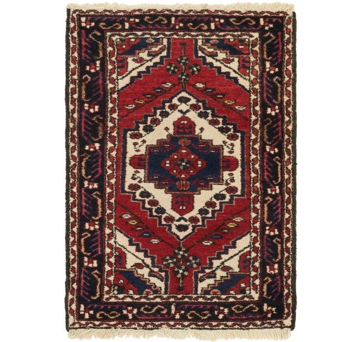 2' 10 x 4' 4 Kars Oriental Rug