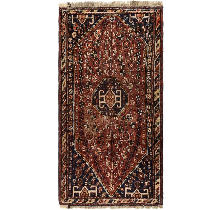 97cm x 188cm Ghashghaei Persian Runn...